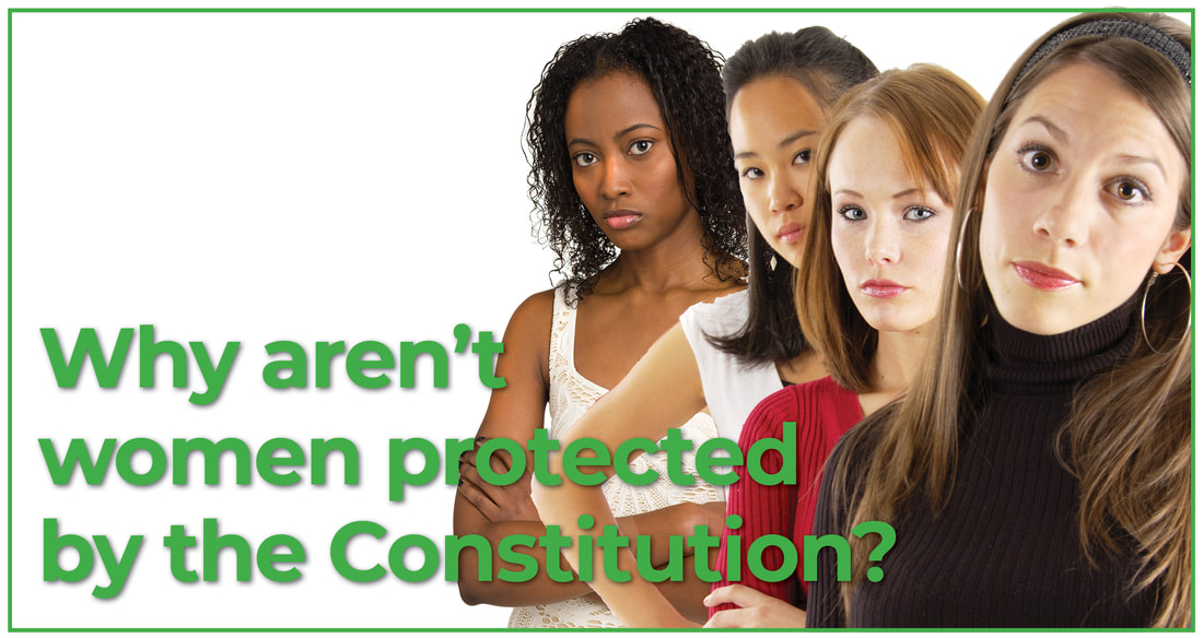 Why aren't women protected by the constitution?